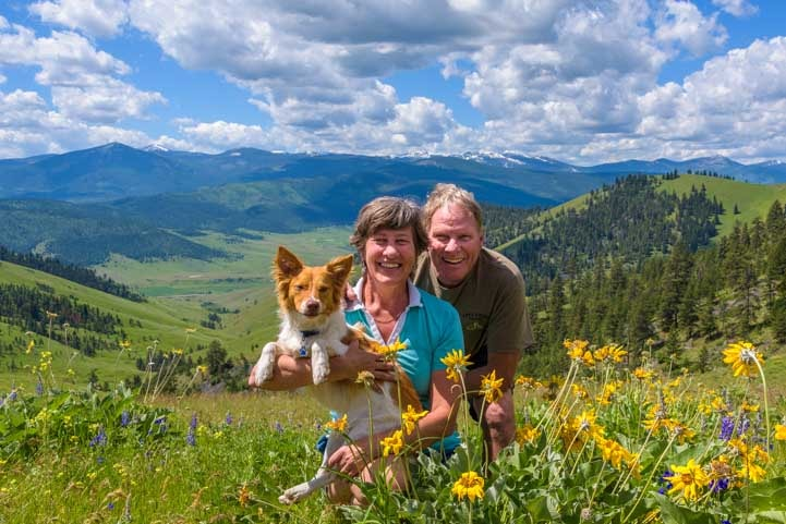 00-721-Full-time-RVers-with-puppy-living-nomadic-lifestyle-and-traveling-in-Montana-1